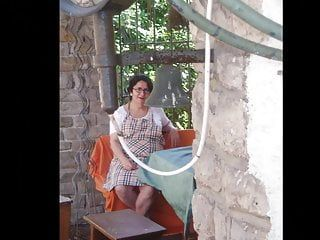 Granny pelzmausi suggests her bald love tunnel - slideshow pt. 1