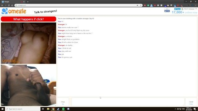 Shy small gal rubs her soft mambos to aid me cum on omegle