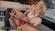 Brazzers - belt on gina valentina doms her fresh stepmom julia ann