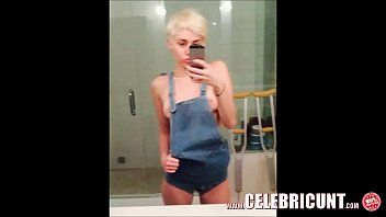 Loopy celeb miley cyrus stripped trickled fappening two