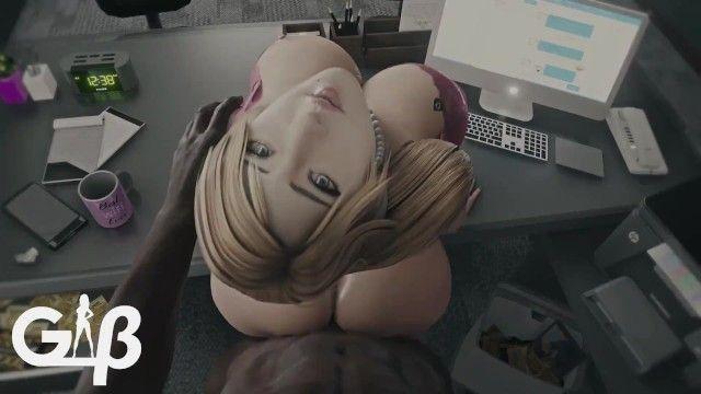 Secretary samus sexy wife animation w/sound