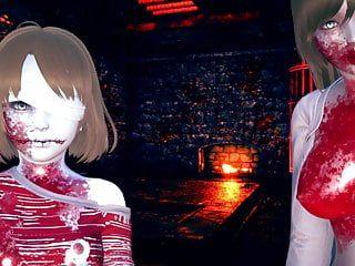 Hawt undead zombie cuties wish to eat u alive